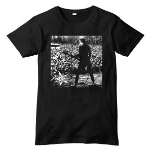 The Clash Iconic Rock Against Racism Crowd T-Shirt