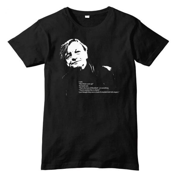 Mark E. Smith 'Mumford & Sons' Quote T Shirt (Black)