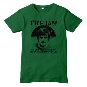 george best green tshirt mockup
