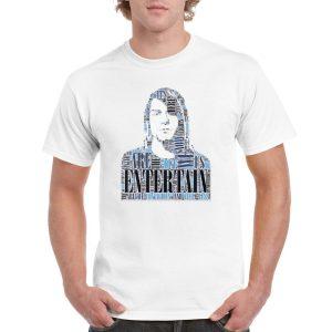 Nirvana 'Smells Like Teen Spirit' Lyric T-Shirt (Nevermind Album – White)