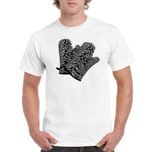 Joy Division 'Oven Gloves' T-Shirt (White)