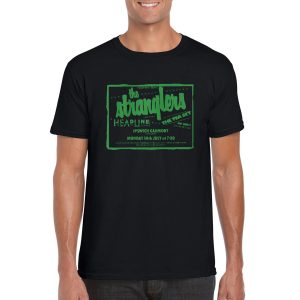 The Stranglers 'The Tea Set' Tour T-Shirt (Black)